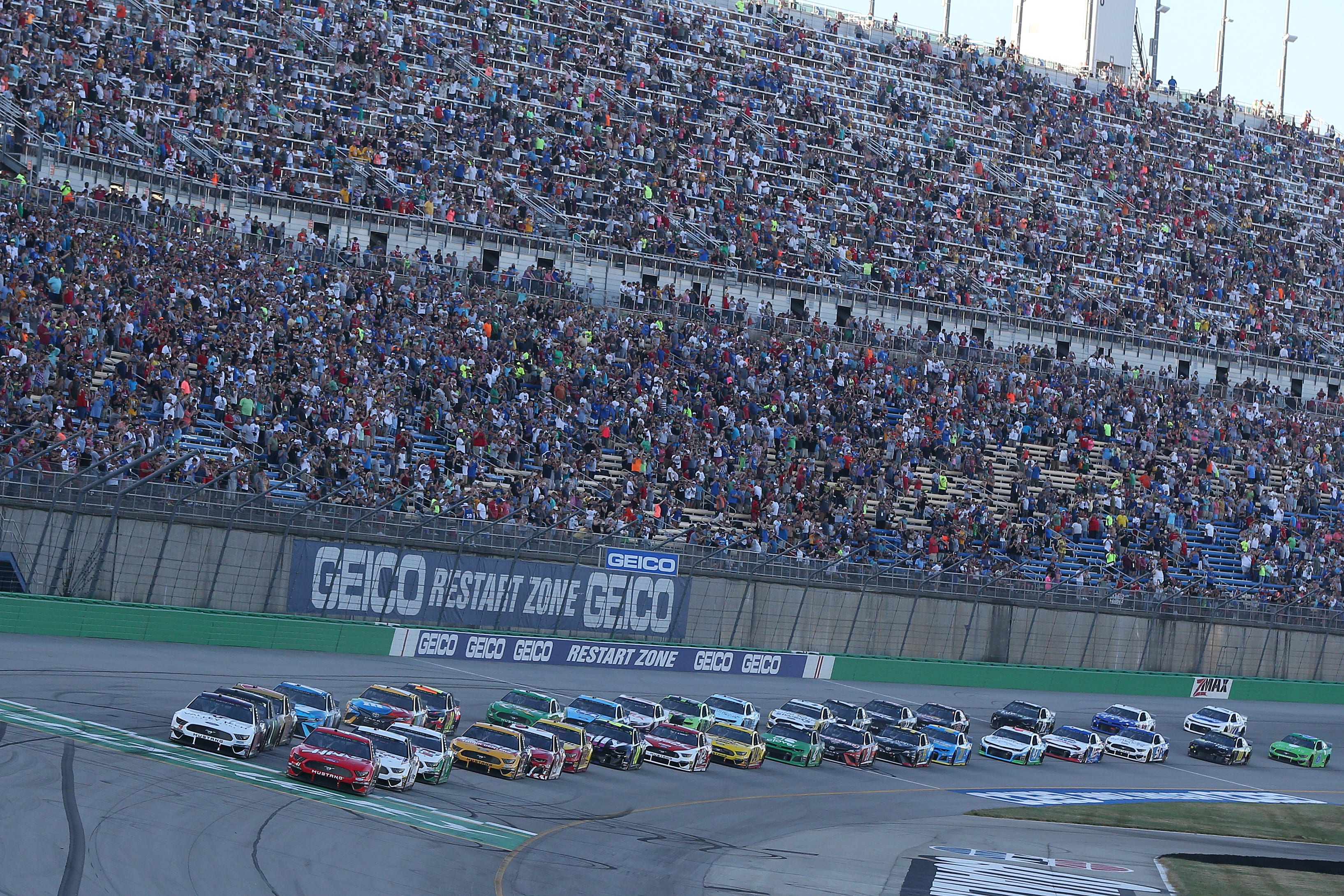 Kentucky Race Results: July 13, 2019 (NASCAR Cup Series)