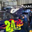 William Byron in the Kentucky Speedway garage area - NASCAR