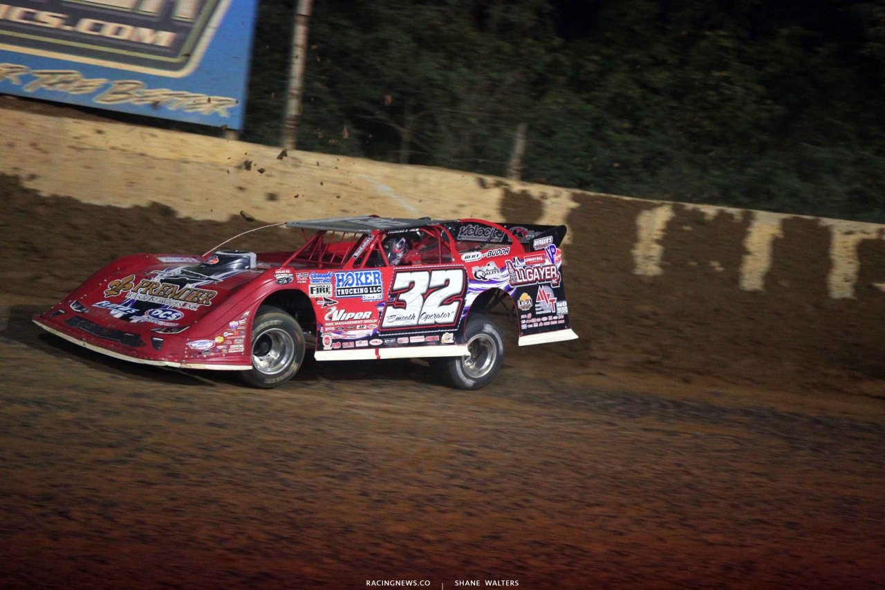 Bobby Pierce at Florence Speedway - Lucas Oil Late Model 3884