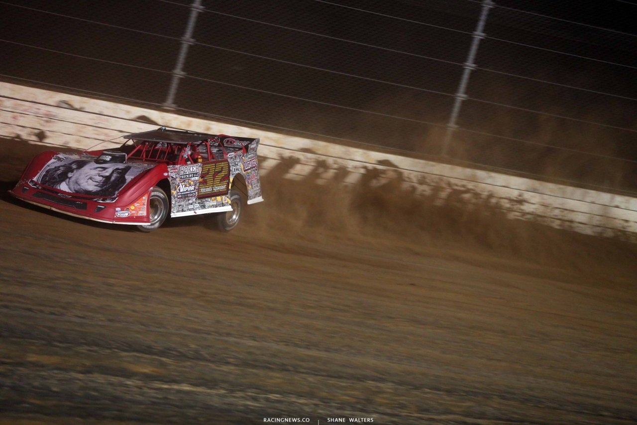 Bobby Pierce at Mansfield Motor Speedway - Dirt Million Wrap - Lucas Oil Series 5271