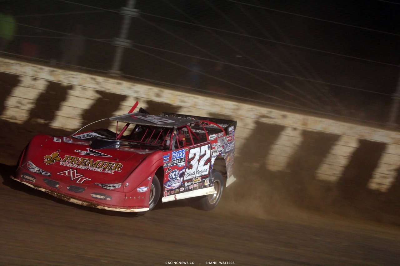 Bobby Pierce in the Dirt Million at Mansfield Motor Speedway 5557