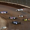 Brandon Sheppard, Jonathan Davenport, Chase Junghans, Mike Marlar, Michael Norris and Scott Bloomquist in the Dirt Million at Mansfield Motor Speedway 5509