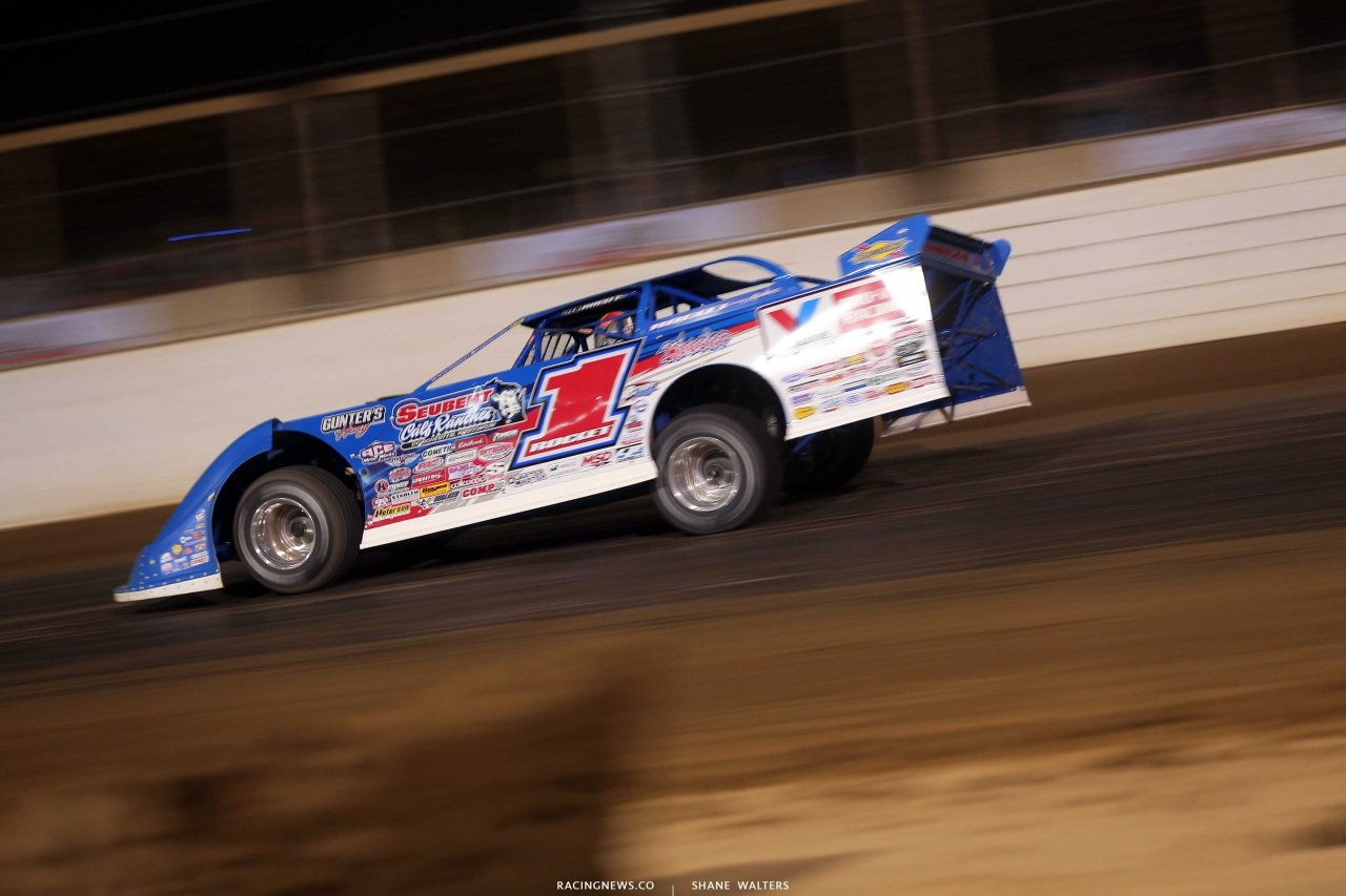 Brandon Sheppard at Mansfield Motor Speedway - Dirt Million 5710
