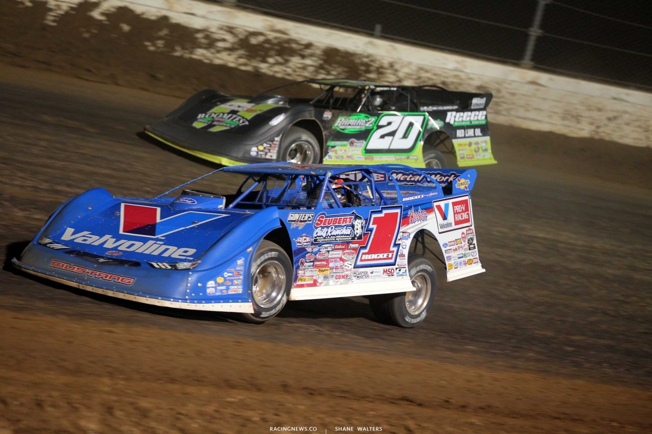 Brandon Sheppard at Mansfield Motor Speedway - Lucas Oil Late Model Dirt Series 5390