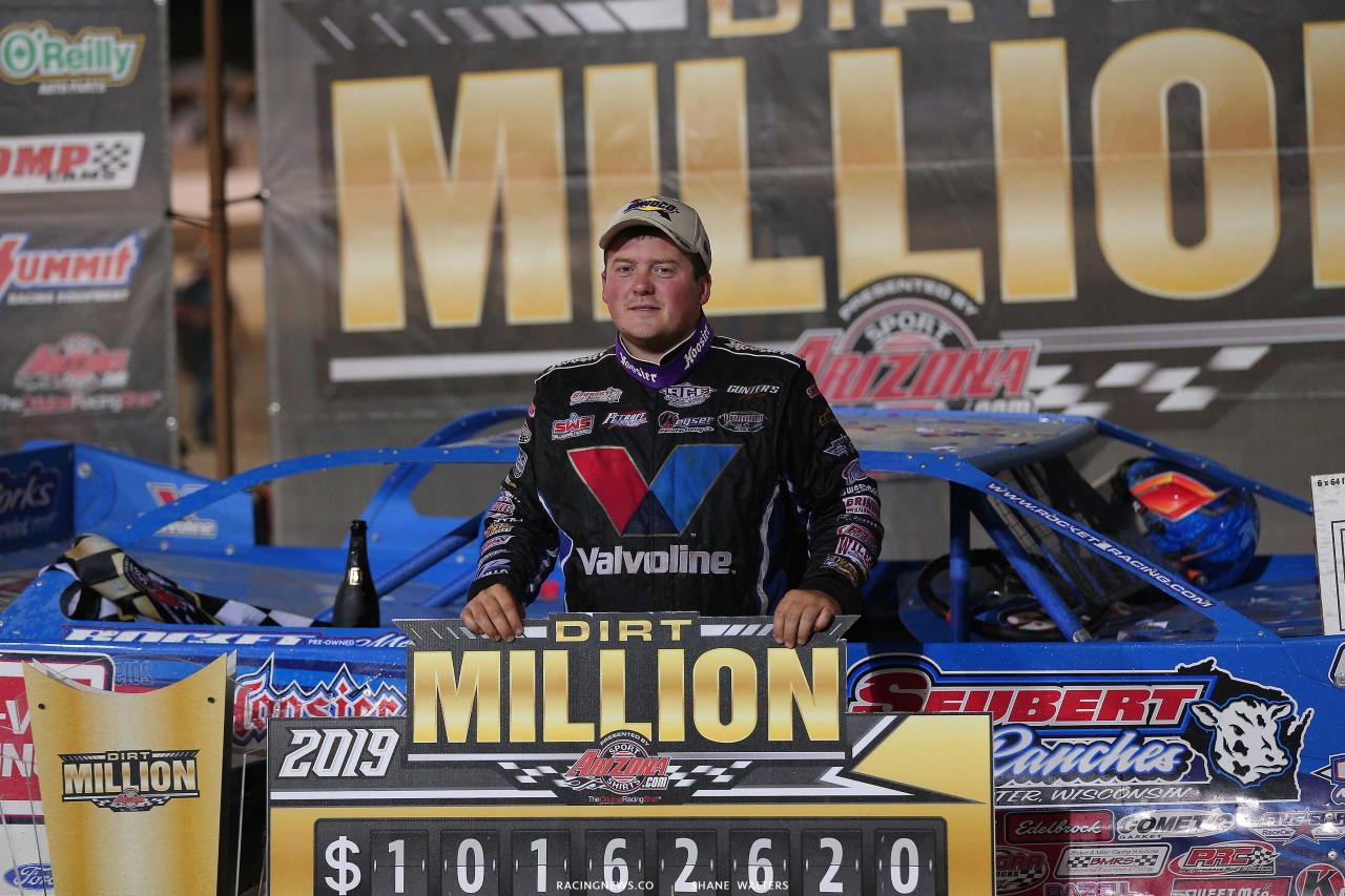 Brandon Sheppard wins 101,626 in Dirt Million 5856