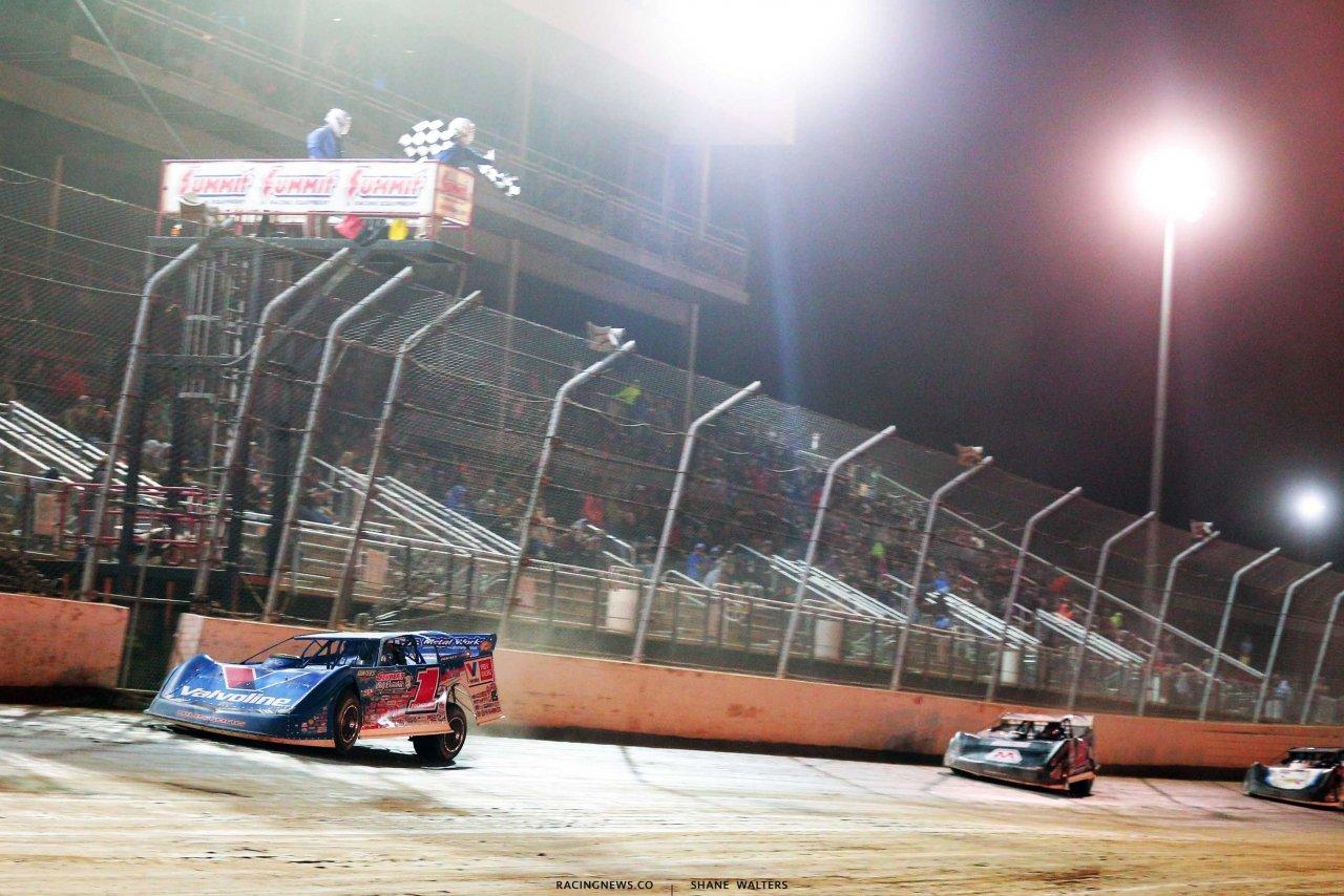 Brandon Sheppard wins the Dirt Million at Mansfield Motor Speedway 5799