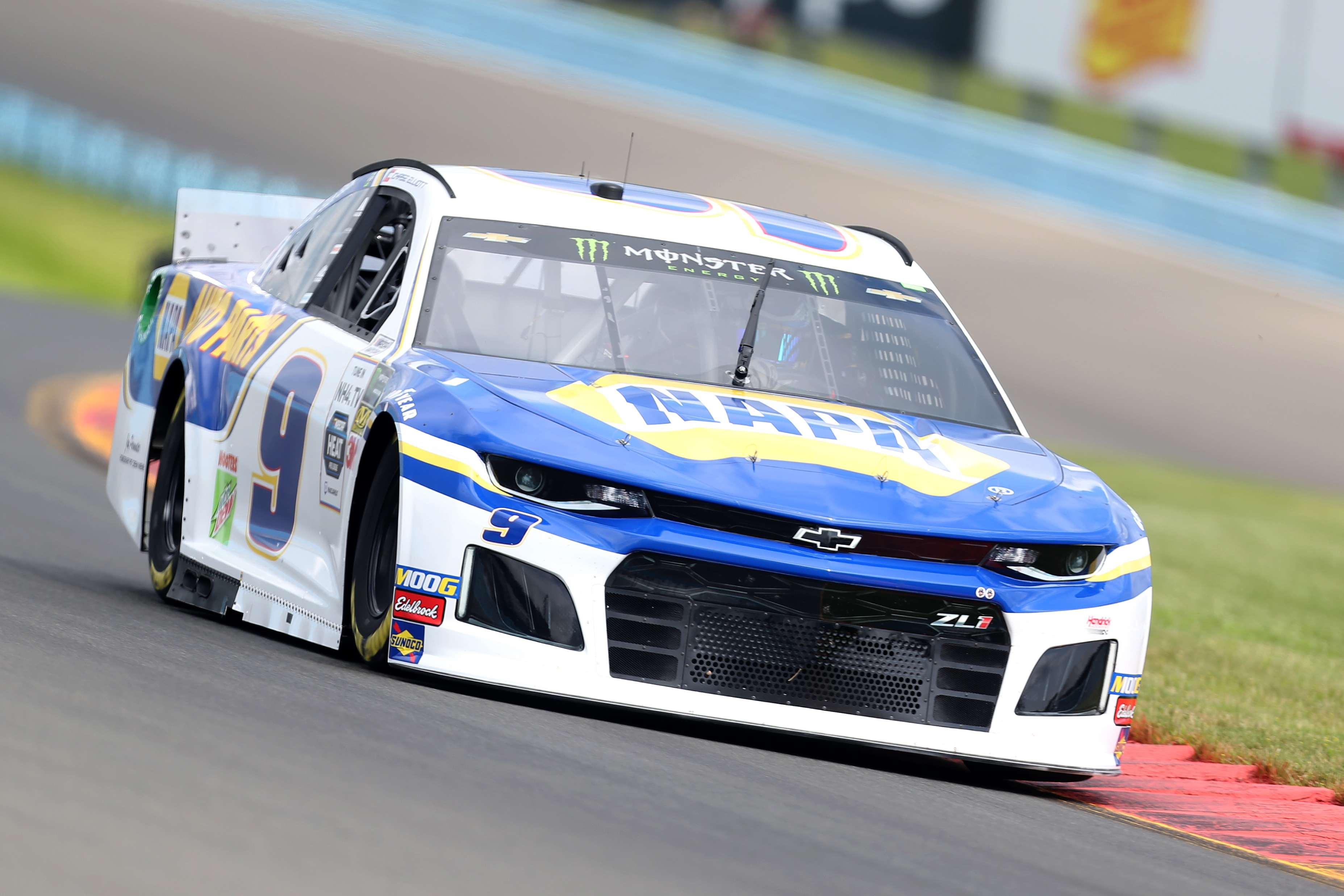 Chase Elliott at Watkins Glen International - NASCAR Cup Series