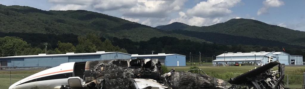 Dale Earnhardt Jr Plane Crash: Video shows moment all passengers escaped the fiery aircraft