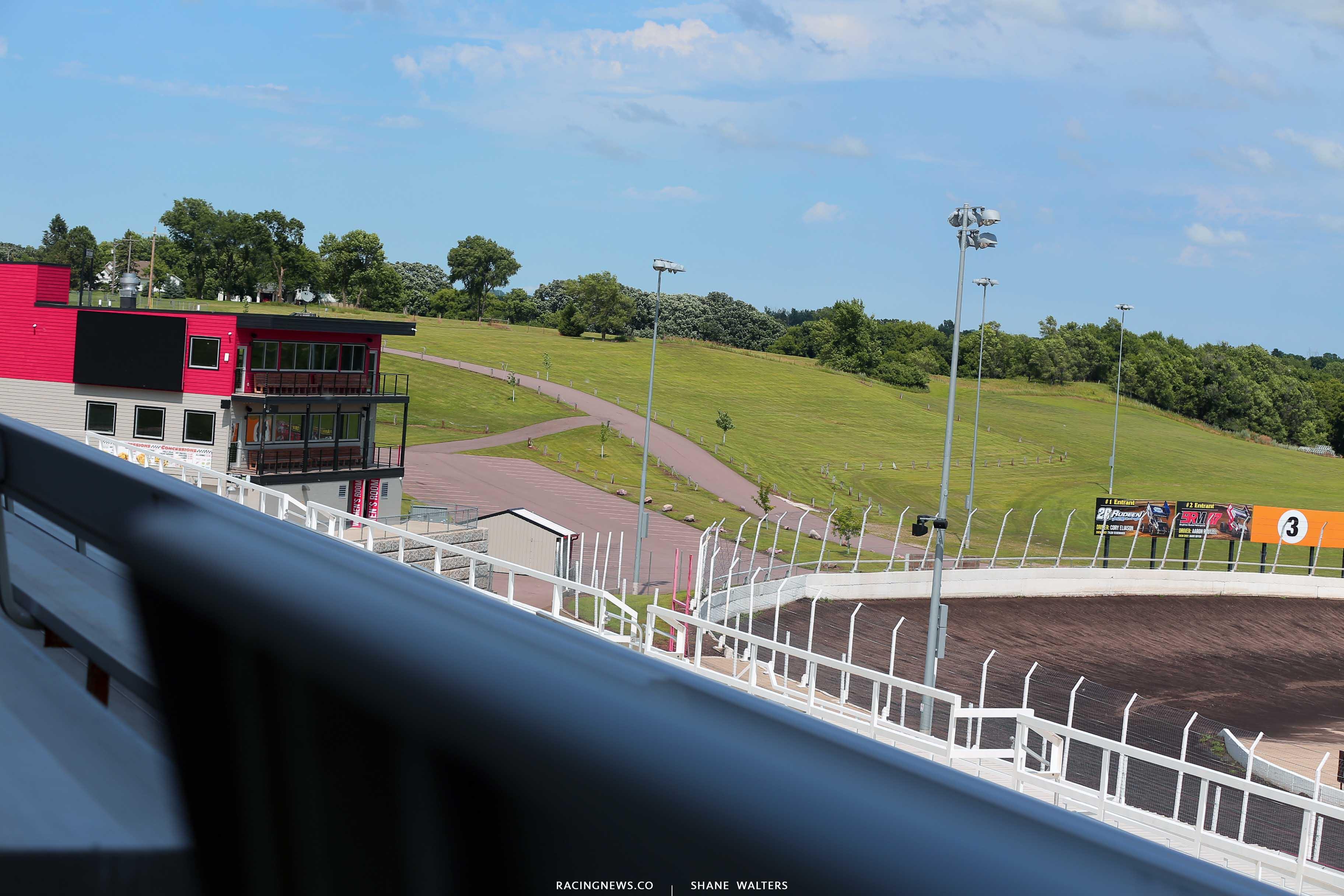 Huset's Speedway dirt track 1558