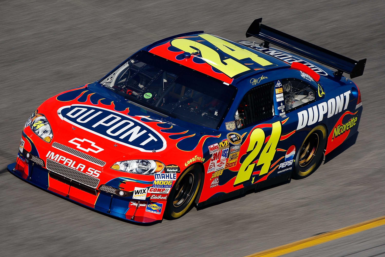 Jeff Gordon - Flames #24 at Daytona International Speedway - NASCAR