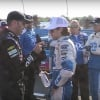 Jimmie johnson at Ryan Blaney at Watkins Glen International