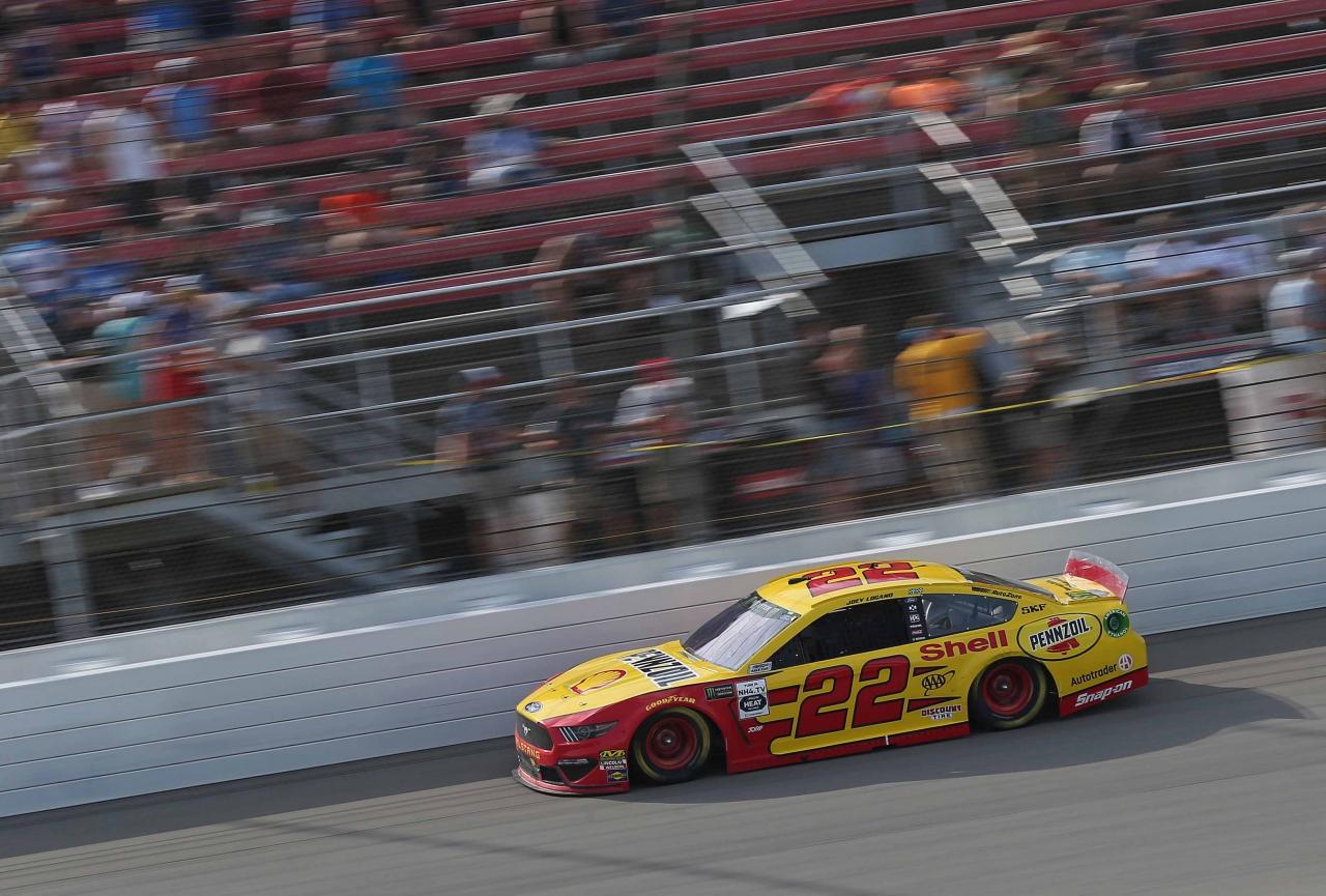 Joey Logano at Michigan International Speedway - NASCAR Cup Series