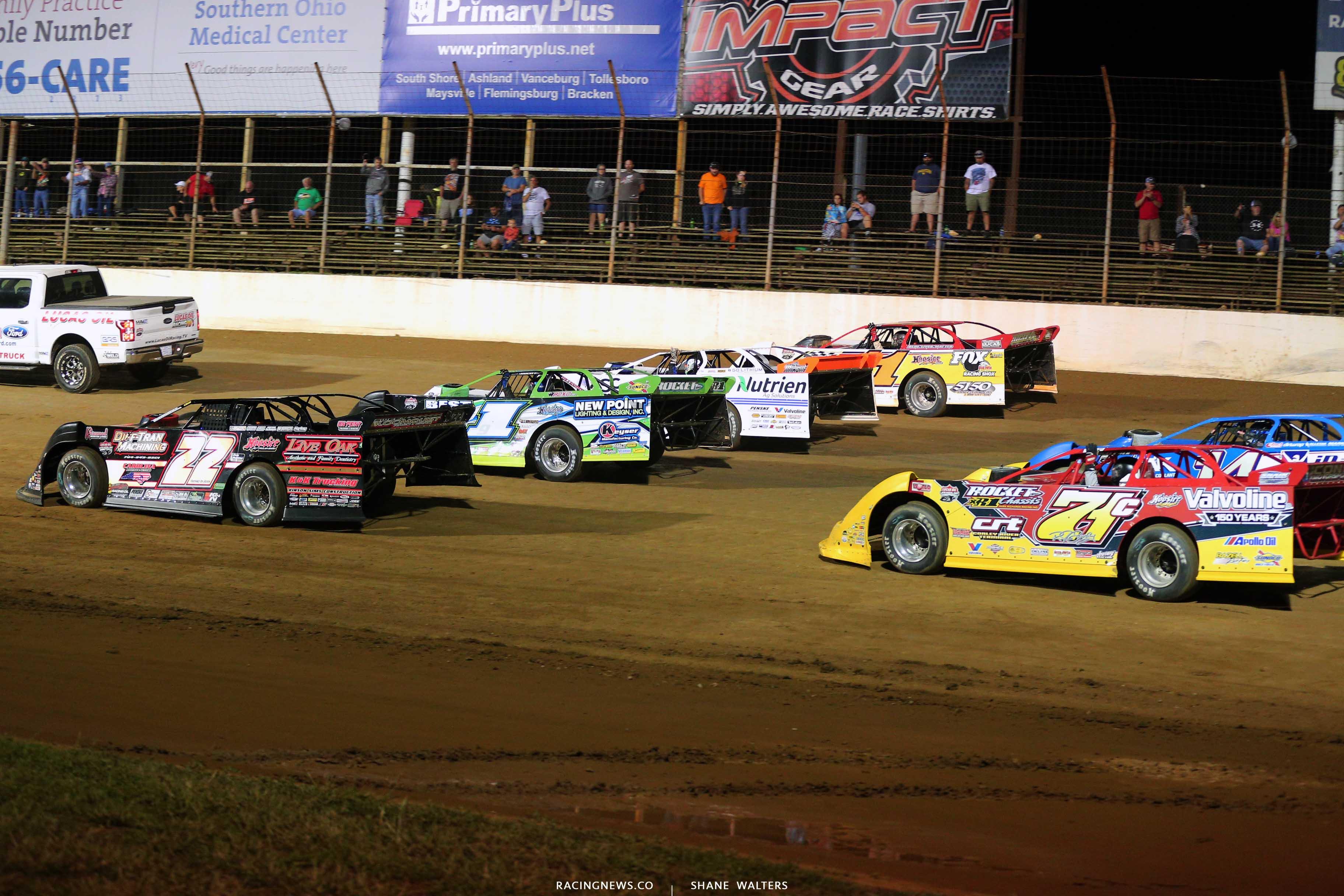 Lucas Oil Late Model Dirt Series at Portsmouth Raceway Park 6222