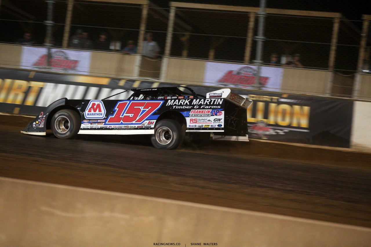 Mike Marlar in the Dirt Million at Mansfield Motor Speedway - LOLMDS 5461