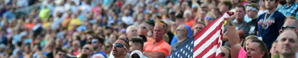 Confederate flag banned from NASCAR events