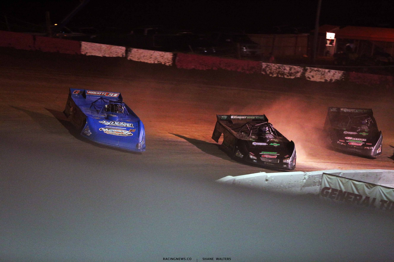Neil Baggett and Stomry Scott at Batesville Motor Speedway 4770