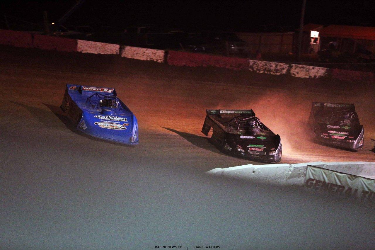 Neil Baggett and Stomry Scott at Batesville Motor Speedway 4770