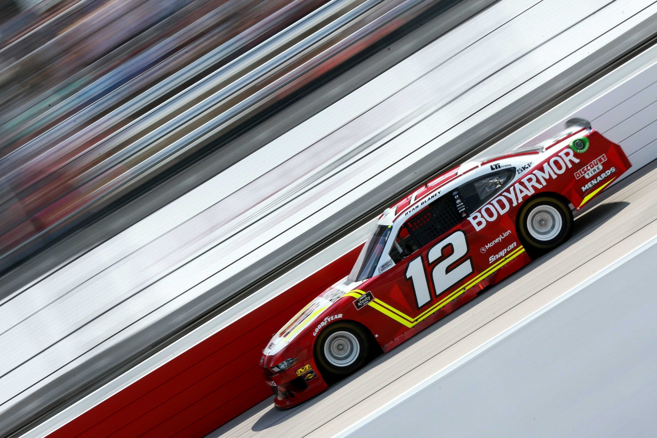 Ryan Blaney at Darlington Raceway - NASCAR Xfinity Series