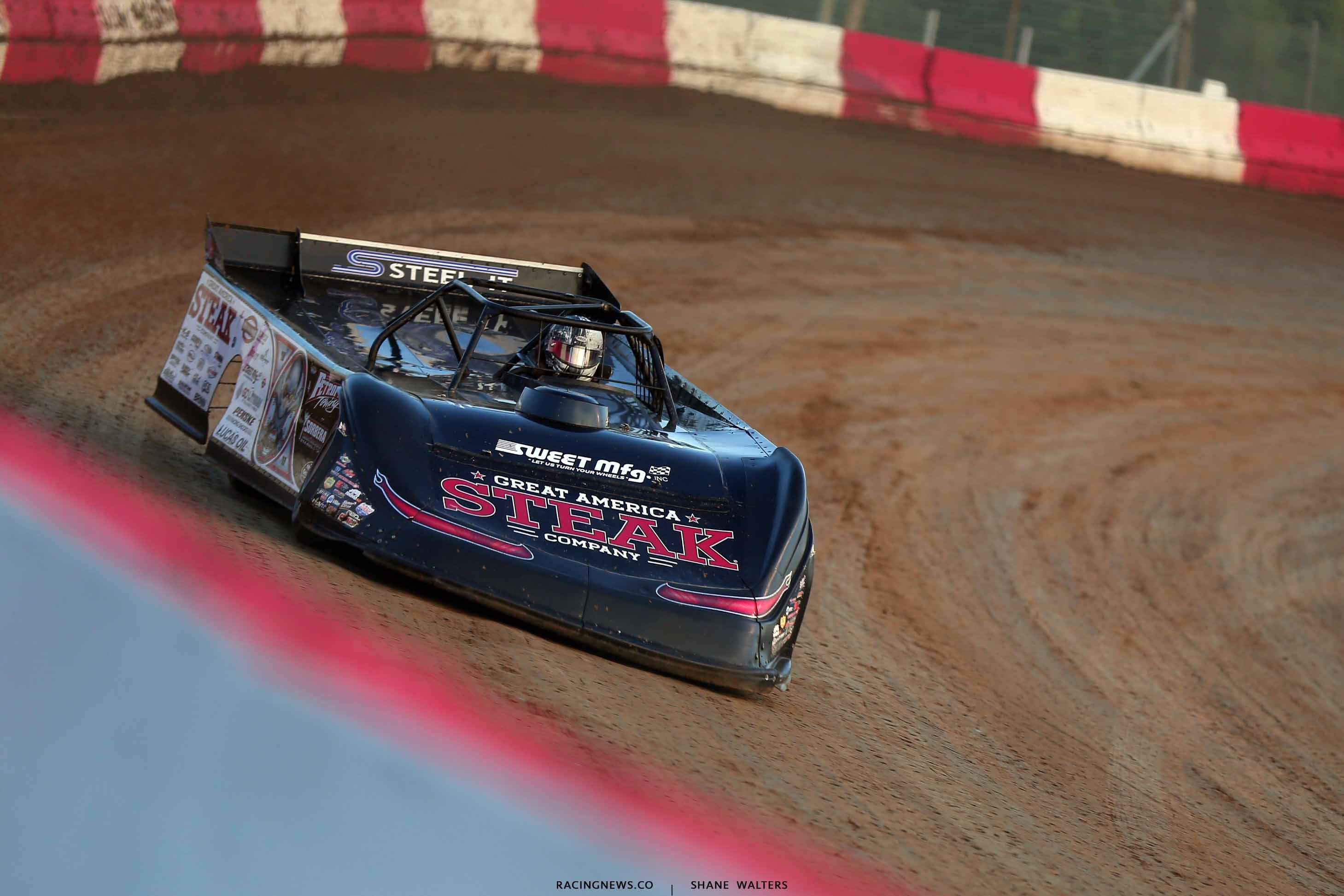 Scott Bloomquist at Batesville Motor Speedway - Lucas Oil Late Model Dirt Series 4439