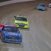 Stewart Friesen and Matt Crafton at Eldora Speedway - NASCAR Truck Series