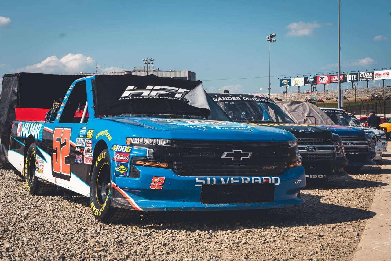 Stewart Friesen at Eldora Speedway - NASCAR Truck Series - Eldora Dirt Derby