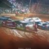 Tim McCreadie, Devin Moran, Kyle Bronson and Jonathan Davenport at Ponderosa Speedway - Lucas Oil Late Models 5888