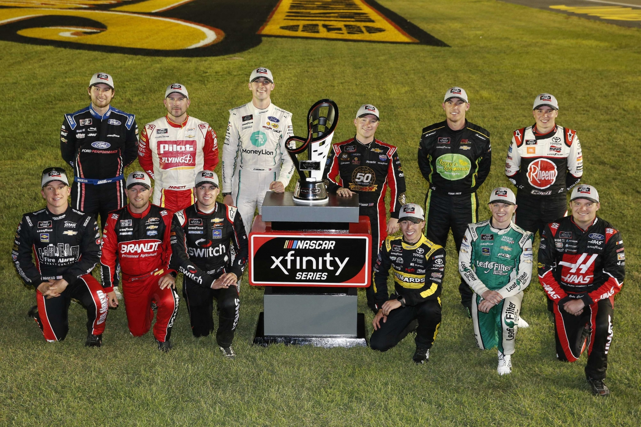 2019 NASCAR Xfinity Series Playoff Drivers