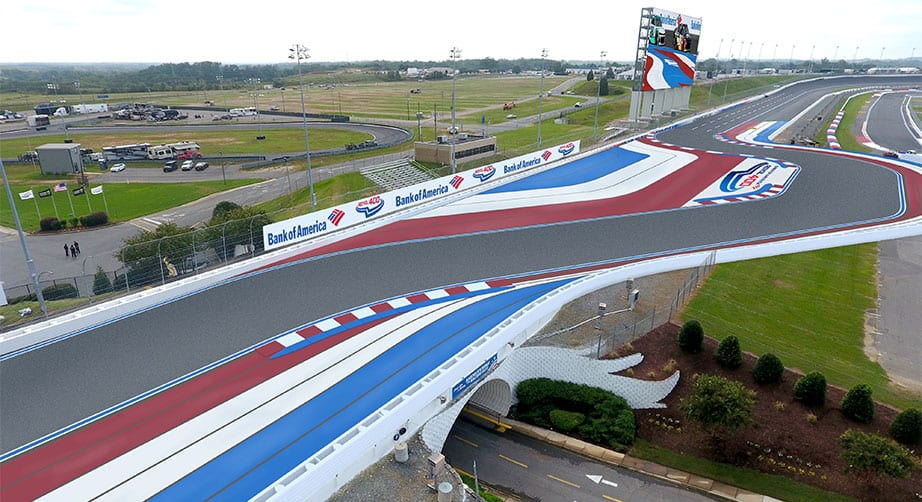 Charlotte Roval - New backstretch chicane