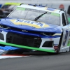 Chase Elliott jumps curbs on the ROVAL at Charlotte Motor Speedway - NASCAR Cup Series
