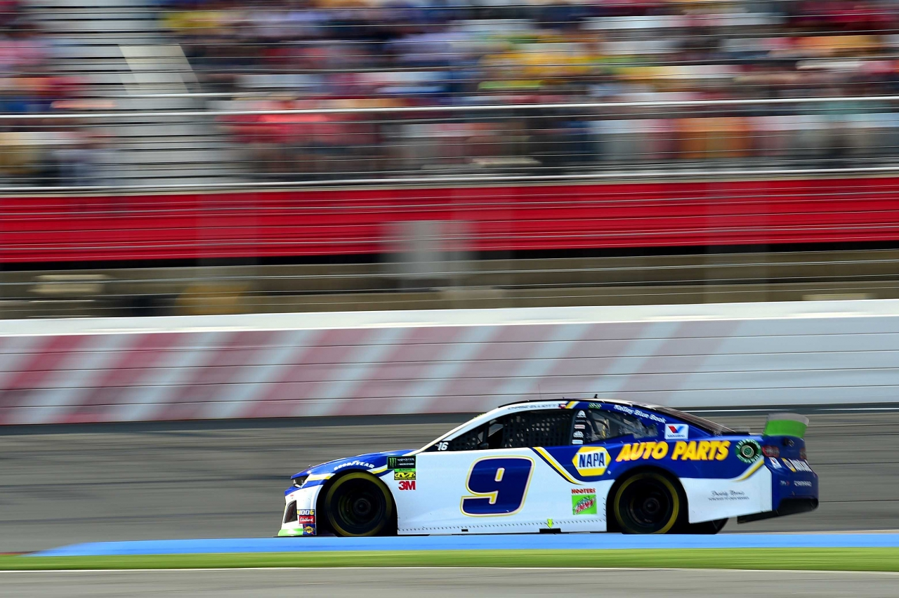 Chase Elliott on the ROVAL at Charlotte Motor Speedway - NASCAR