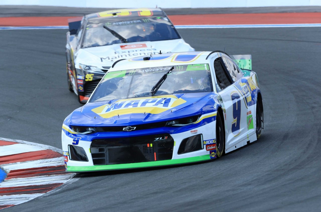 Chase Elliott on the ROVAL at Charlotte Motor Speedway - NASCAR Cup Series