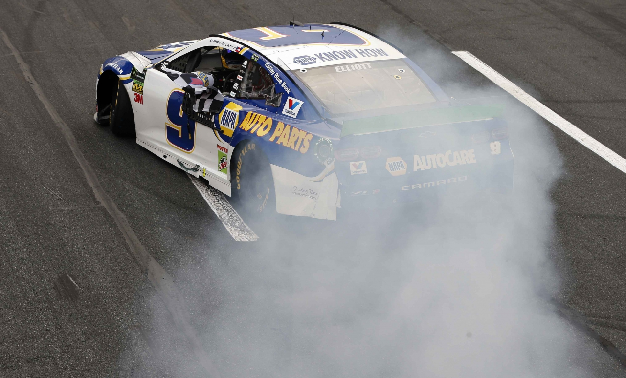 Chase Elliott wins the NASCAR race on The ROVAL at Charlotte Motor Speedway