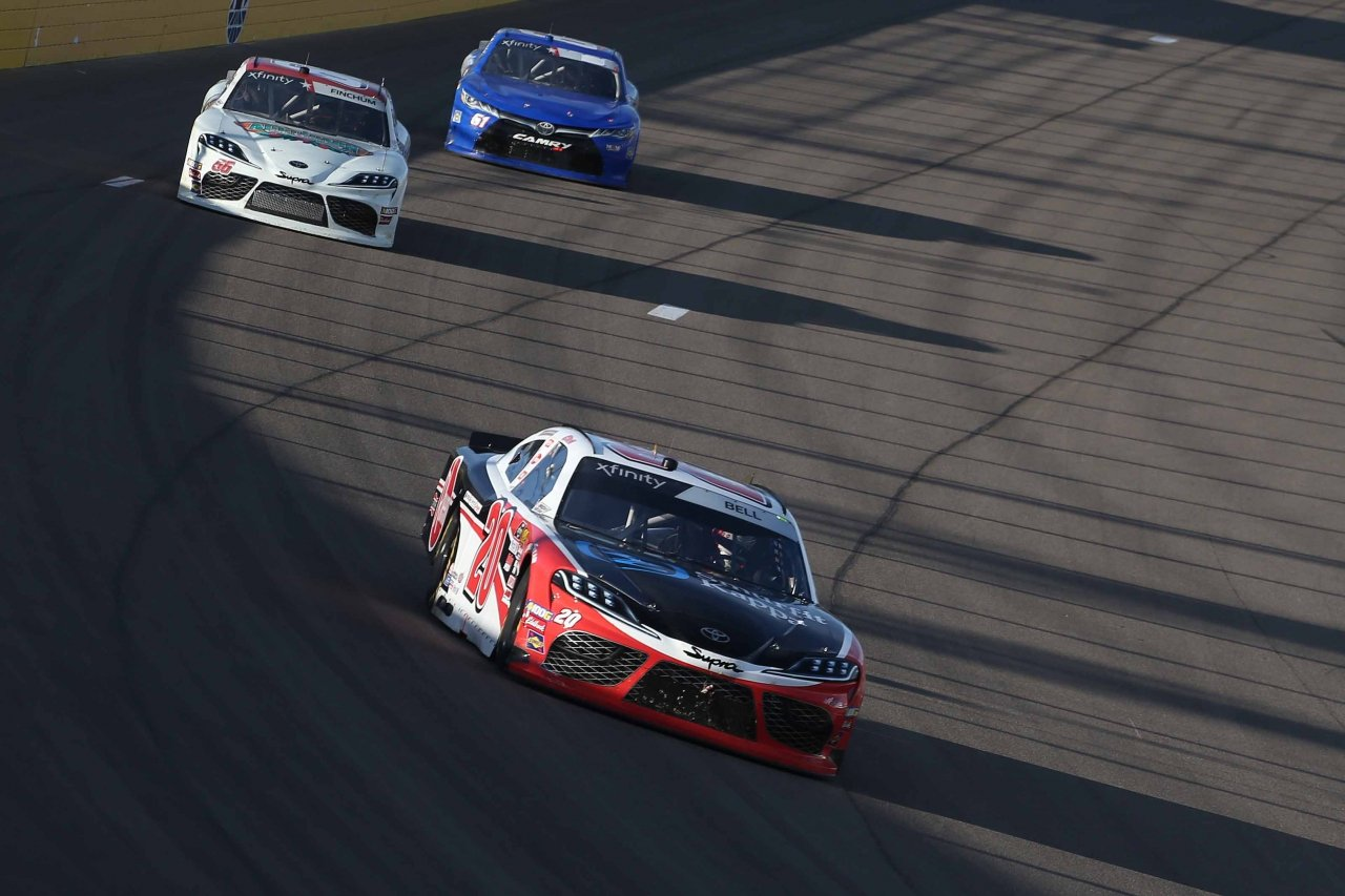 Christopher Bell leads at Las Vegas Motor Speedway - NASCAR Xfinity Series