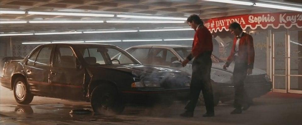 Days of Thunder Rental car scene