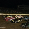 Four wide salute at Eldora Speedway - World 100
