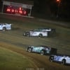 Hudson O'Neal, Chris Madden, Jimmy Owens, Stormy Scott and Scott Bloomquist at Brownstown Speedway - Lucas Oil Series 7825