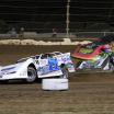 Hudson O'Neal, Tyler Erb and Billy Moyer Jr at Kokomo Speedway - Lucas Oil Late Model Dirt Series 7580