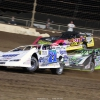 Hudson O'Neal, Tyler Erb and Billy Moyer Jr at Kokomo Speedway - Lucas Oil Late Models 7579