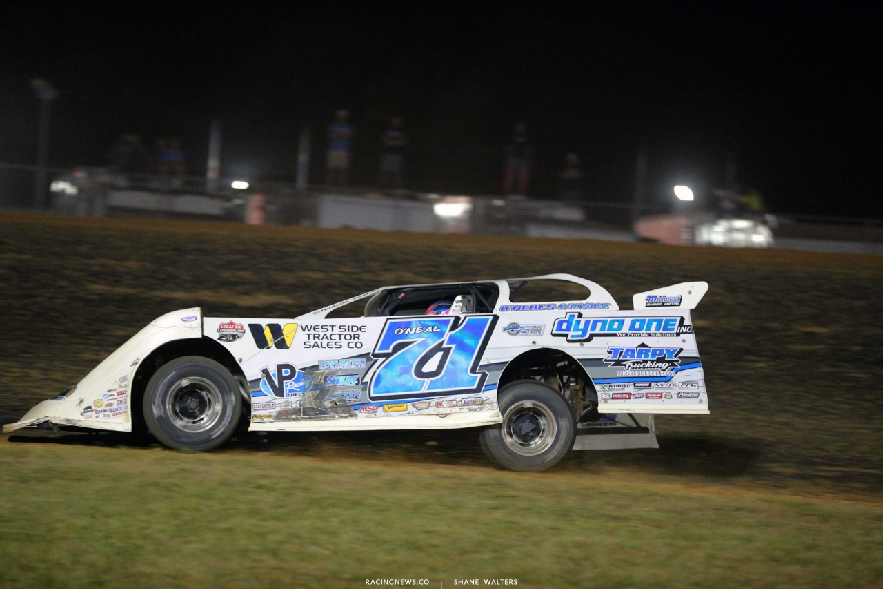 Hudson O'Neal at Brownstown Speedway - Lucas Oil Late Model 8132