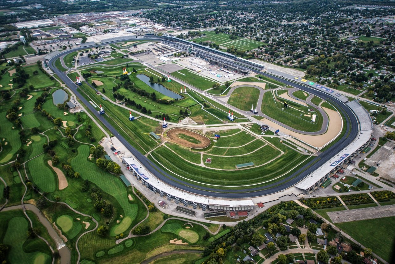 Indianapolis Motor Speedway - Aerial View
