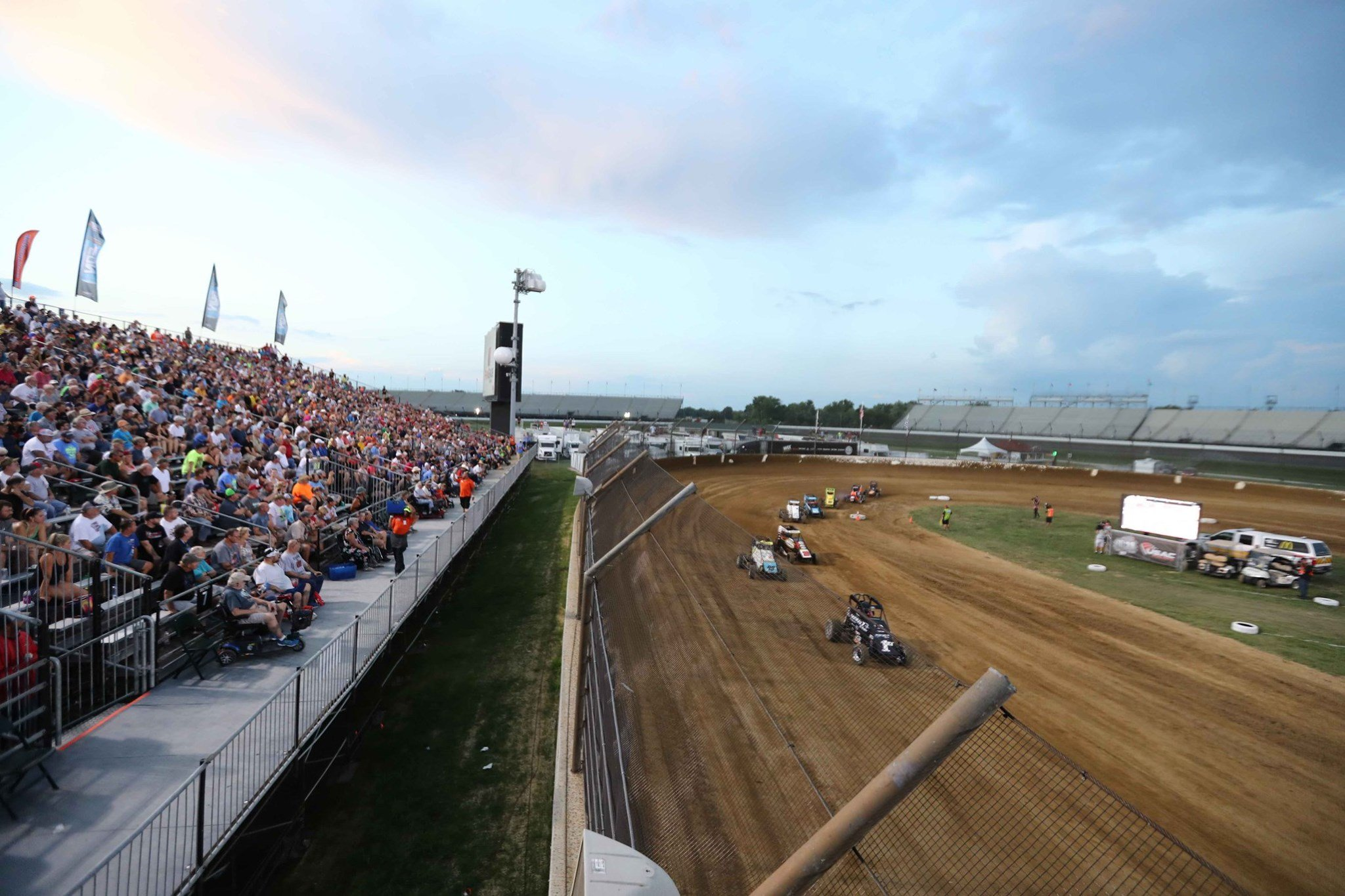 Indianapolis Motor Speedway - BC 39 Dirt Race