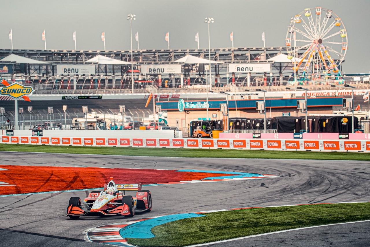Josef Newgarden - IndyCar ROVAL test