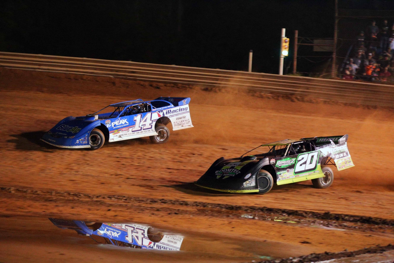 Josh Richards and Jimmy Owens at Tyler County Speedway 6565