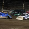 Josh Richards and Jonathan Davenport crash at Kokomo Speedway - Lucas Oil Late Model Series 7674