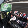 Kyle Busch, Brandon Jones, Christopher Bell and Tyler Reddick at the Indianapolis Motor Speedway
