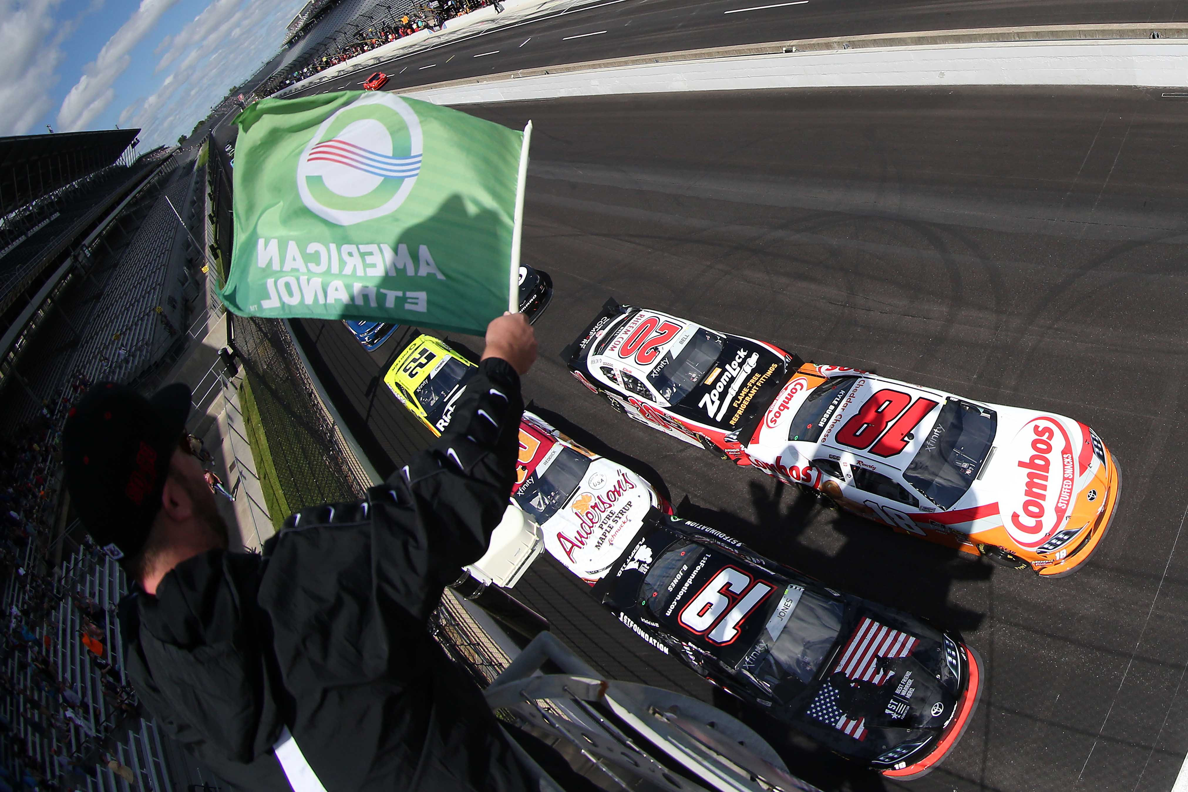 Kyle Busch #18 Clear Backpack