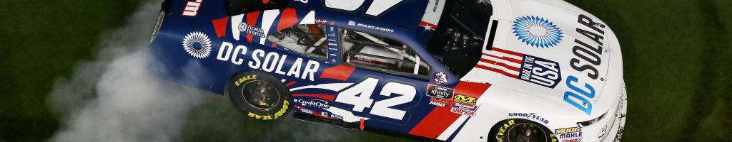 NASCAR racecars for sale in auction; Kyle Larson's Daytona winner