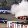 Ricky Stenhouse Jr spins Martin Truex Jr at Richmond Raceway