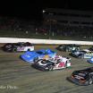 Ricky Weiss, Billy Moyer, Dennis Erb Jr and Chris Madden at Eldora Speedway - World 100