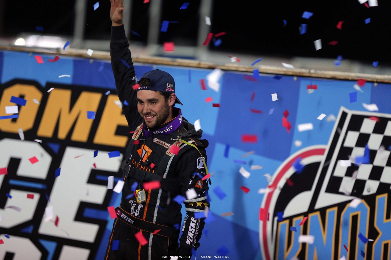 Ricky Weiss wins at Knoxville Raceway 7014